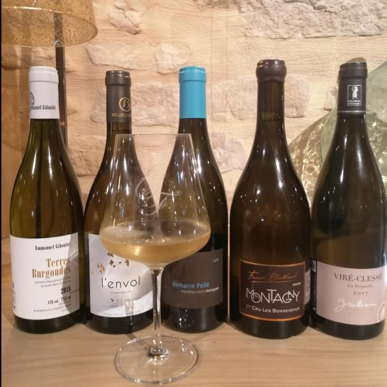 Hôtel les sept fontaine-caveau-sélection vin blanc