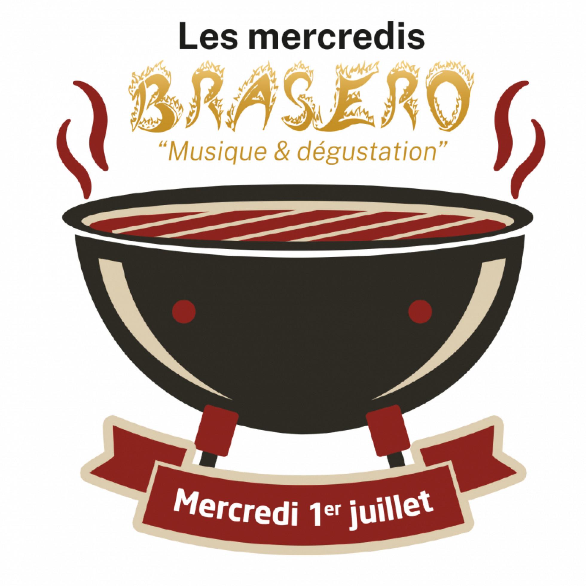 Hotel les 7 fontaines-menu Brasero