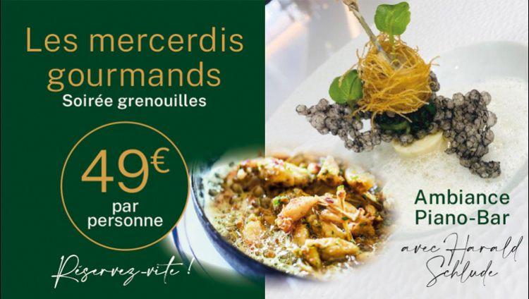 Discover Les Mercredis Gourmands at the restaurant Le Cloître