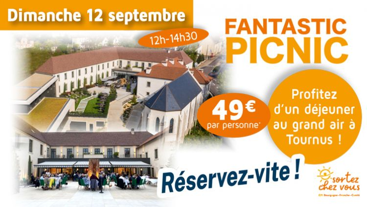 Fantastic Picnic at the hotel les Sept Fontaines on Sunday, September 12 !